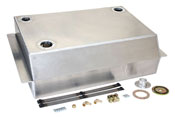 Carburated and Fuel Injection Ready Aluminum Fuel Tanks