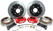 "13"" 4-Piston Rear Big Brake Kits"