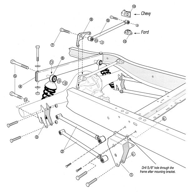 1955 Ford Front Suspension Diagram 1955 Get Free Image