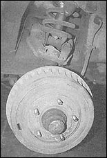 Chevy II Dropped Spindles and Disc Brakes