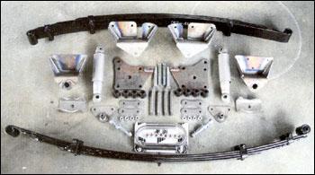 Rear Brake Pad Set T271DF for 220 220D 230 240D 250 250C 250S 250SE 250SL 280