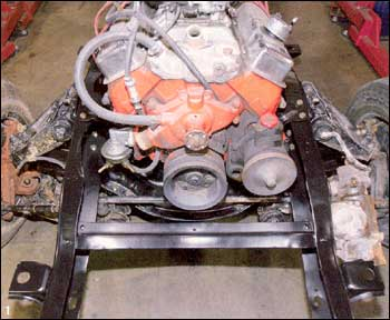 Chevy engine and tranny installation sorry, that