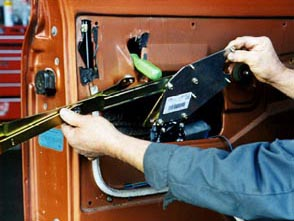 Electric-Life regulator being installed